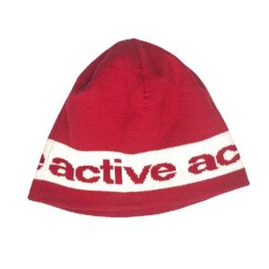 Active Ride Shop Beanie Knit OS Maroon